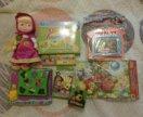 Новые развивающие игрушки пакетом Маша и Медведь