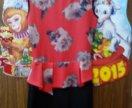 Платье с кокеткой размер с 42
