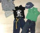 Пакет одежды на мальчика 74 см.