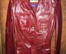 Куртка кожаная. Новая