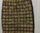 Облегающая юбка с паетками