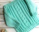 Новый Вязаный свитер р 40-42