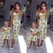 Сарафаны/летние платья для мамы и дочки