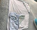 Детское полотенце с уголком 3 шт