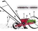 Сеялка ручная ОСР-1. Кубань