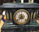 Антикварные часы каминные массив дерева
