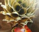 Топиарий из купюр денежное дерево