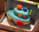 Кораблик для игры в ванне baby go
