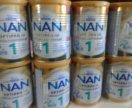10 банок! Нан NAN 1 оптипро гипоаллергенный
