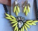 Комплект ожерелье и серьги