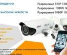 Комплект видеонаблюдения на 1 видеокамеру
