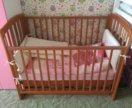 Комплект детская кроватка и пеленальный комод
