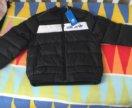 Новая куртка adidas оригинал р 116-122