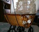 Ретро коляска для кукол