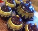Набор горшочков в форме тыквы