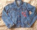 Пиджак джинсовый 128-140