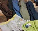 Пакет одежды на мальчика 2-3года
