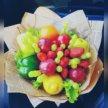Фруктовый букет, овощной букет, букет из фруктов
