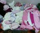 Пакет одежды на девочку 0-80