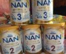 Смесь Нан 2 и 3