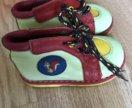 Ботиночки ортопедические кожаные 19