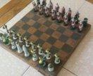 Шахматы металлические