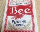 Карты для фокусов bee