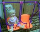 Качели для кукол