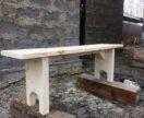 Лавка, скамья деревянная
