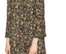 Платье цветочное zara