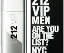 "Carolina Herrera ""212 VIP Men"" 100ml"