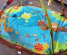 Развивающий коврик+ дуга и игрушки