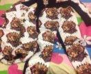 Тёплый костюм для девочки 9-10 лет