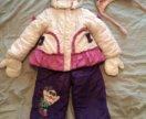 Зимний комбинезон на девочку 2-3 года.