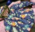 Куртка в цветочек новая