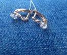 золотые сережки новые