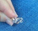кольцо золото новое 19 разм