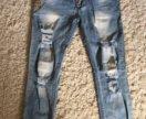 Новые женские джинсы(галифе)