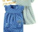 Комплект платье и песочник Картерс