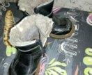 Ботинки иск мех