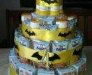 Торт бэтмен из сока и барни
