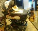 Коляска 2в1 maxima stroller+мех конверт + подарок