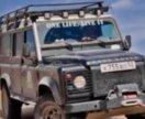 Экспедиционный Багажник на Land Rover Defender
