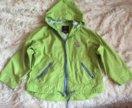 Куртка- ветровка на девочку 128см