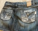 Юбка,джинс, мини