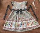Платье стиляги на выпускной р 122-128 /аксессуары
