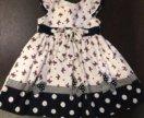 Летнее платье на малышку