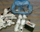 Ролики с защитой и сумкой - рюкзаком