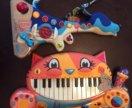 Новые музыкальные игрушки Battat