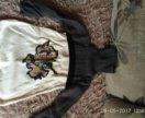 Теплое платье р. 4-5 лет